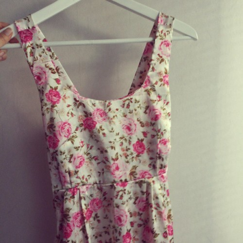 #new #flower #summer  #dress #girly