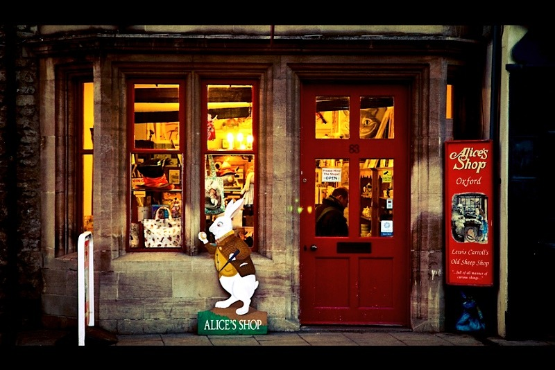 | ♕ |  Alice's Shop in Oxford  | by © vic xia