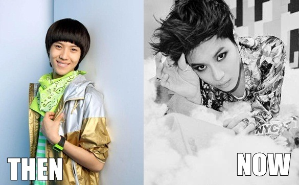 Lee Taemin Then & Now  #how to make puberty your bitch a taemin autobiography  This^