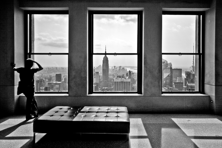 Top of the rock by Thomas Splietker FineArtPhoto