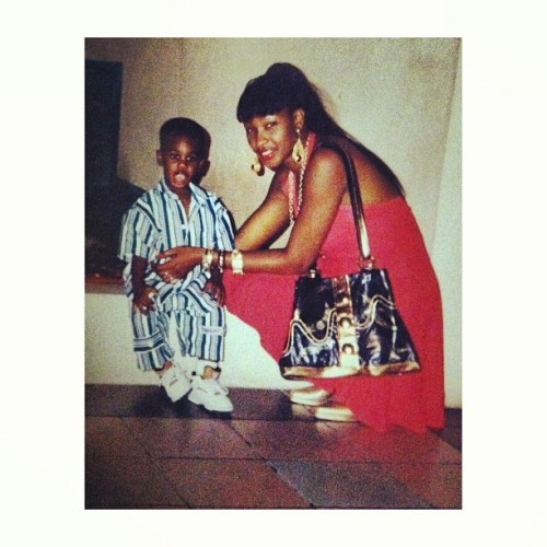 #tbt 94, JA flexin wit madre
