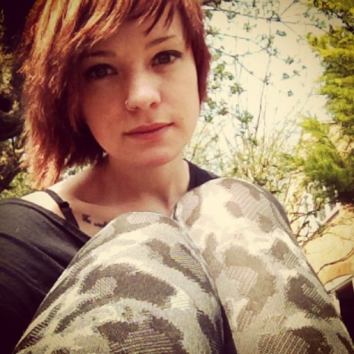 #altmodel #freckles #girl #girly #ginger #me #may #makeup #myself #nature #nosering #outdoors #piercing #redhead #sg #selfy #summer #suicidegirls #fashion