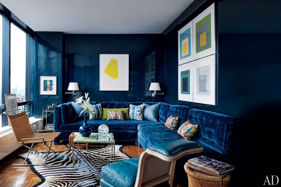 In honor of our Designers At Home issue, we've rounded up 27 stylish living rooms of other top talents whose residences have been featured in our pages.
