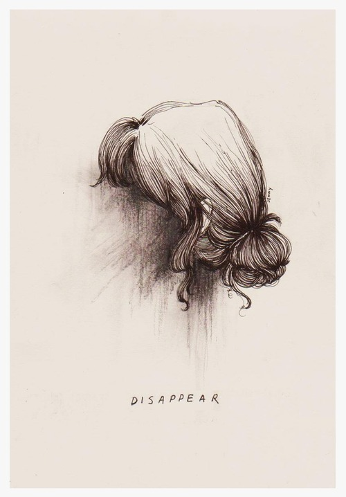 thesecretlifeofahopeful:  I wish i could sometimes disappear.
