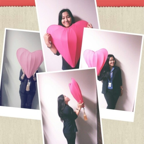 My life is full of LOVE! #random #funny #love #pink #selfpotrait