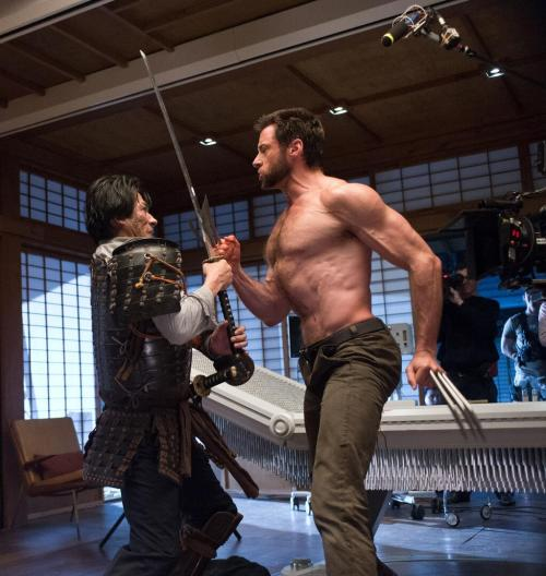 Wolverine Squares Off Against Hiroyuki Sanada In This Latest Image From the Twitter account of director James Mangold comes this new image from The Wolverine. In the image we see Hugh Jackman's Wolverine facing off against Hiroyuki Sanada's Lord Shingen in a clash of blades: Wolverine's adamantium claws against Shingen's katana.  The Wolverine stars Hugh Jackman, Famke Janssen, Will Yun Lee, Brian Tee, Svetlana Khodchenkova, Hiroyuki Sanada, Rila Fukushima, Tao Okamoto and Hal Yamanouchi, with a release date set for July 26th.  [James Mangold via Twitter] —— Featured:  Films That Failed To Stick The Landing Friend Us: Facebook and Twitter