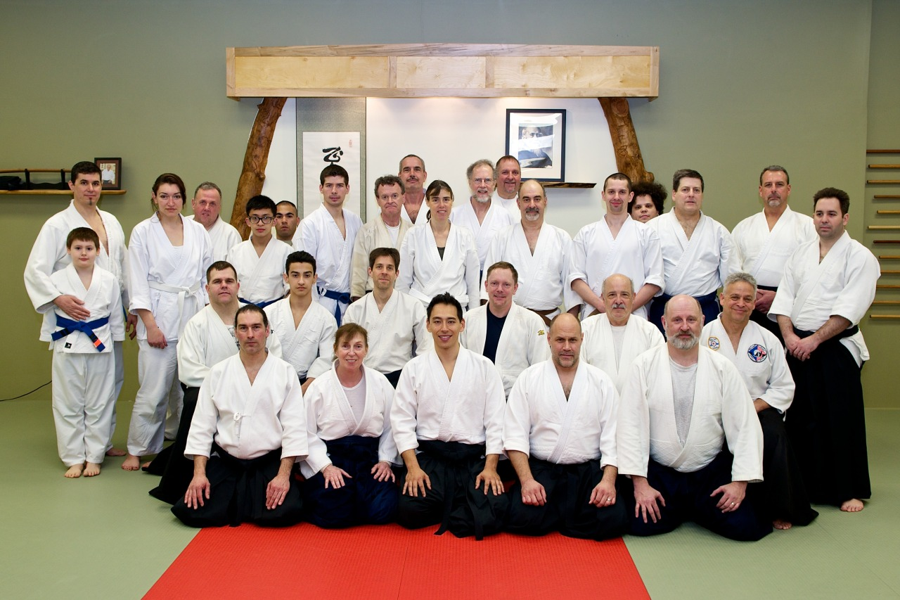 Click for more photos from the Tatsuo Toyoda Sensei Aikido Seminar hosted by Mill City Aikido.