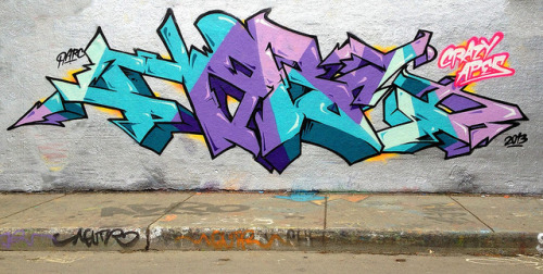 wordsfromdaak:  Narc by CrazyApesCrew | ca-crew.com on Flickr.