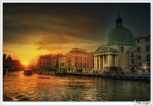 Good morning Venice(Chiesa di San Simon Picolo) by Maurizio51 Rewinds on Flickr.
