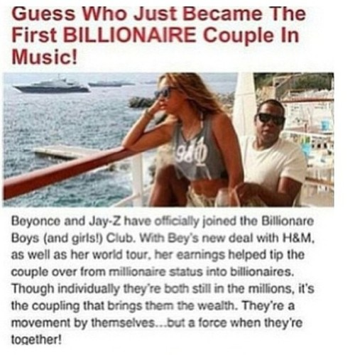 Yes!! Congrats Bey and Jay y'all better work!! 👌👌😎