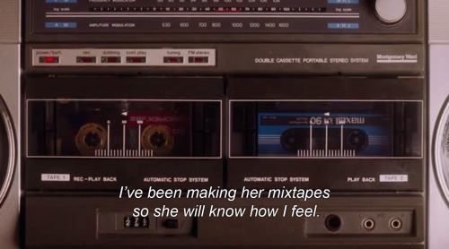 that-girl-aint-quite-right:  cough-e:  make me a mixtape  adorable