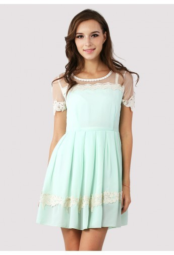 I want this dress! Obsessed with Mint