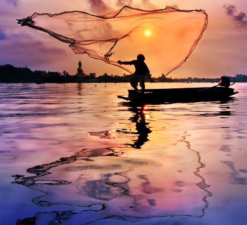 seafarers:  The Fisherman by Arthit Somsakul