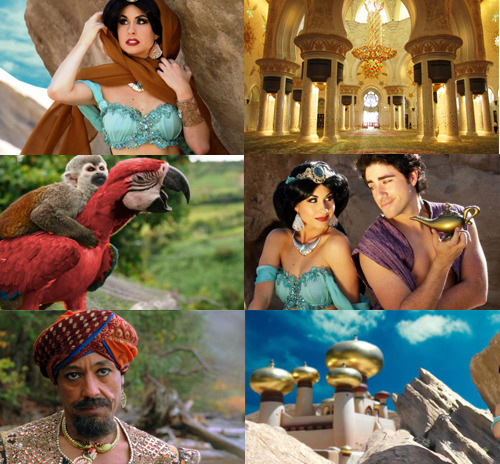 Disney Animation to Live Action ➝  Aladdin