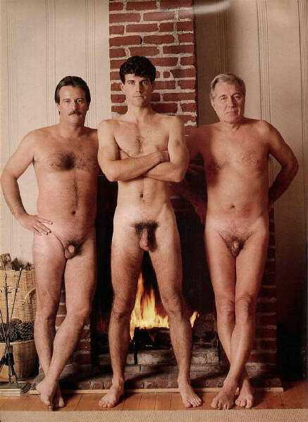 vintagemaleerotica:  Son, dad and granddad - three generations, by Playgirl.1979 I thinkNot really vintage, but I like the pic :-) These are the Myette family men. When the pic was taken Dad was 38, jr was 19, gramps 64.   More pics of the family here:http://adonismale.com/dc/thumbnails.php?album=11991