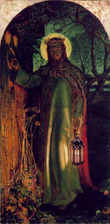 classic-art:  The Light of the World Willam Holman Hunt
