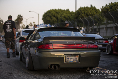 phokingrice:  Derek's S14 by Photography by Jordan Adkins on Flickr.