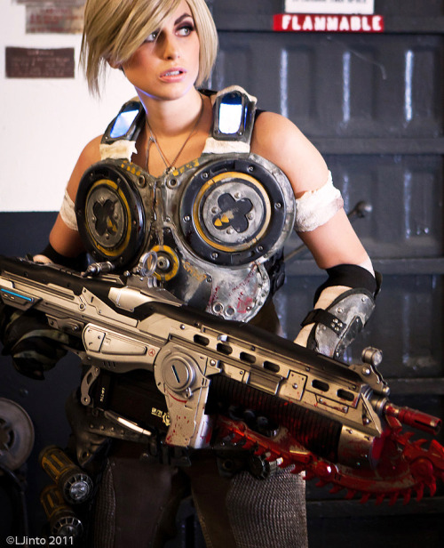 doubletrim:  Anya Stroud from Gears of War Cosplayer: Meagan Marie Deviant Art Her Website