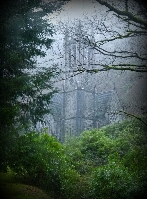 bluepueblo:  Medieval, Kylemore, Ireland photo via emily