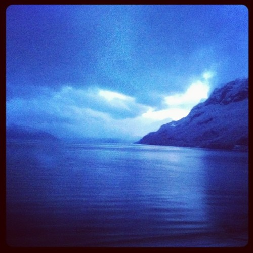 #hardanger #fjord #norway #blue #mountain #snow #nature