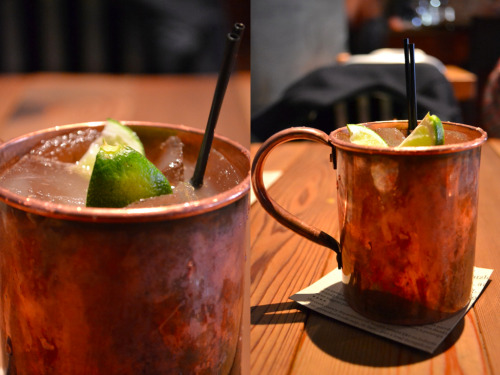 i'm [insanely] thirsty for a moscow mule.