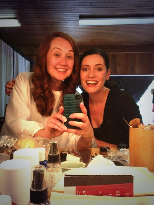@Annie_Savage ON SET with the always radiant @pagetpaget! She got me a role in her movie! Loves me my Paget! http://t.co/7ObBq9ufdg  Update from Paget: the movie is an indie movie called 'Uncle Nick'