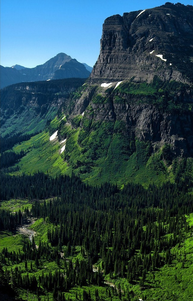 unwrittennature:  Glacier National Park MT ValleyBy PsychaSec☆