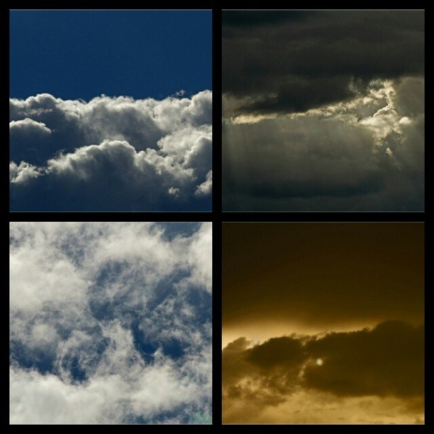 The #clouds today…#love the #variety #portland #spring gives ya. #oregon #sunset #hdr #gorgeous #beautiful @instapicframe #instapicframe #collage #nature #bluesky #fluffy #canon #weather #rain #sun #dramatic #pnw #america #bestoftheday #picoftheday #night #texture #soft