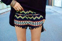 My New zig zag shorts @aleygreenblo on instagram http://aleygreenblo.tumblr.com http://tickledpink.alphie-eve.com