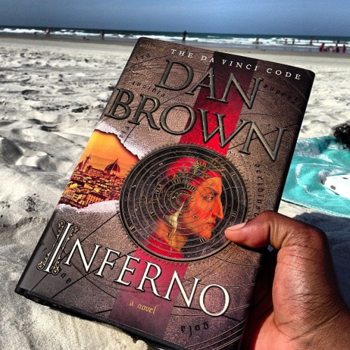 Book life at the beach….reading relaxation #daytona #beach #bottles #bikeweek #life #love #living #yolo #danbrown #inferno #book #seller #newyorktimes
