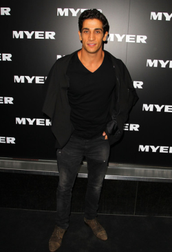 MYER AUTUMN/WINTER 2013 FASHION LAUNCH - FIRASS DIRANI  Thursday night was a night of glitz and glamour at the Melbourne city Myer store, as the biggest faces of Australian fashion celebrated the launch of the department store's Autumn/Winter 2013 fashion range. Sporting the latest leather, lace and peplum were hottest of the hottest including Jennifer Hawkins and Alexandra Agoston.  Male eye candy was also  present of course in the form of Mr Kris Smith!Check out the photos from the catwalk and red carpet here - who was YOUR best dressed? Image Source: Zimbio