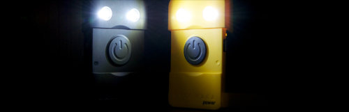 The Waka Waka Power is a light and a battery backup, powered by the sun. You can use it to charge nearly any smartphone, and it doubles as a bright lantern that can provide up to 100 hours of uninterrupted light.