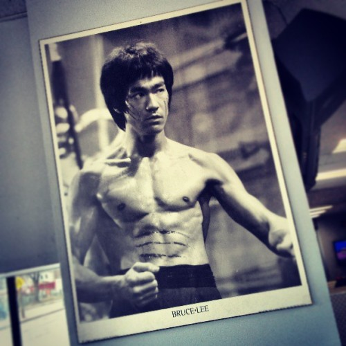 The key to immortality is first living a life worth remembering. #brucelee