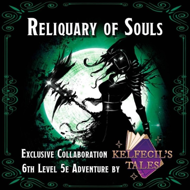 New 5e Adventure - Reliquary of Souls!  A Sunday Tales exclusive Collaboration - Adventure + Maps + Tokens + Music in ONE DOWNLOAD!  ✨ Link in bio! ✨  The Tierrau family has suffered for far too long. The two Tierrau siblings have decided to take fate into their own hands and exact the vengeance they have sought for so long.  Map Maker: @eightfoldpaper NPC Art and Tokens: @papermagecrafts Music: @tabletop_music_bazaar ----  #dnd #roleplay #rpgstory #dungeonsanddragons #ttrpg #tabletoprpg #dnd5e #rpg #dungeonsanddragons5e #dndhomebrew #dungeonmaster #rpggames #dndoc #dndmonsters #dnd5ed #dndcommunity #unearthedarcana #homebrewdnd #5ednd #horror #investigation #undead #library #necromancer https://www.instagram.com/p/CQWyf60DjX6/?utm_medium=tumblr #dnd#roleplay#rpgstory#dungeonsanddragons#ttrpg#tabletoprpg#dnd5e#rpg#dungeonsanddragons5e#dndhomebrew#dungeonmaster#rpggames#dndoc#dndmonsters#dnd5ed#dndcommunity#unearthedarcana#homebrewdnd#5ednd#horror#investigation#undead#library#necromancer