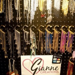 Ear cuffs galore at RAW San Diego Semi-Finals. #giannecreations Credits to: #nemaphotography