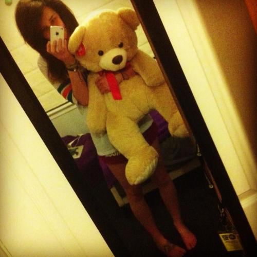 Meet Ted. :) He was my Valentine for 2013. He's a cutie! <3