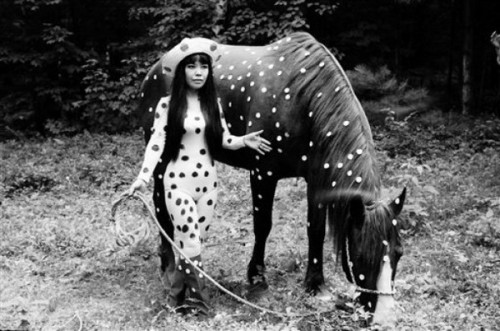 rougerothko:   Yayoi Kusama Avant-garde sculptor, painter and novelist.