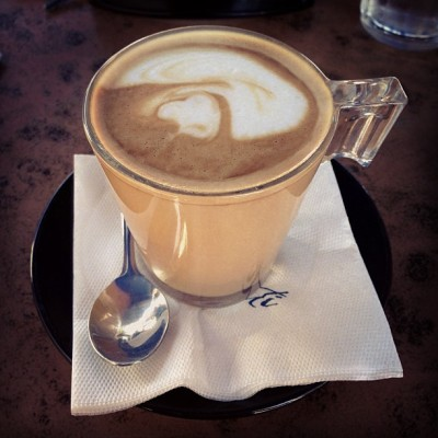 Yep! Just another caramel latte… (at Cafe Conti)