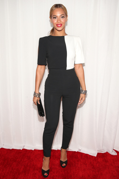 Perfect pantsuit is perfect.