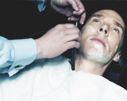sherlock john watson johnlock shaving for sherlock shaving for john