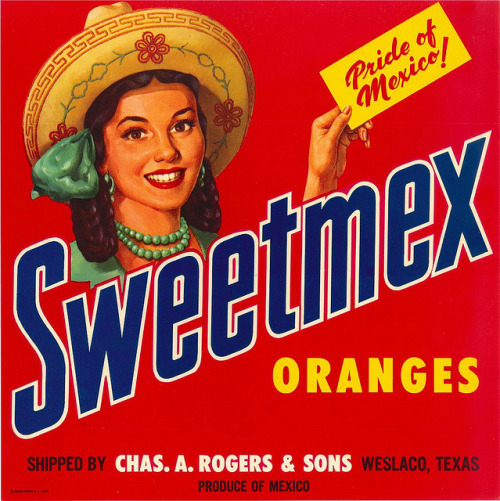 vintascope:  Sweetmex Oranges on Flickr.  Might make this my new fb profile pic.
