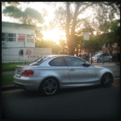 Enrol now. BMW 135.