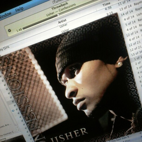 #Throwback #tbt #Usher this album still bumps #classic Usher at his best