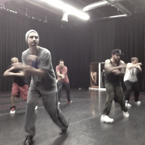 BackstreetBoys/Rehearsal