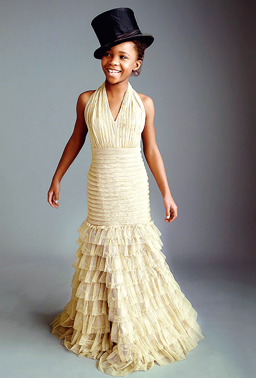 racialicious:  blkgirlblogging:    Quvenzhané Wallis for Entertainment Weekly's annual Oscars issue   this is so charming.  One more Racialicious Seriously Cute for your Friday.
