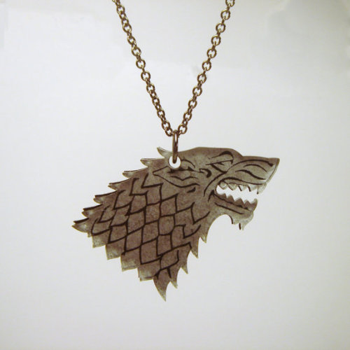 (via Game of Thrones inspired Direwolf House Stark Sigil by HoraEffect)