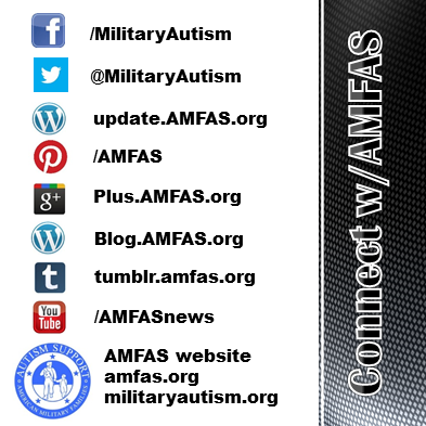 AMFAS offers a variety of ways to connect with our military autism support communities for military families. Join in!