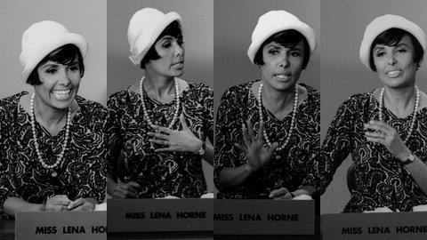 vintageblackglamour:  Lena Horne speaking on a panel at Bethune-Cookman College (now University), the school founded by Mary McLeod Bethune in Daytona Beach, Florida in 1964. I don't know what the topic of the panel was that day, but I do know that Mary McLeod Bethune was a family friend to Ms. Horne. These pictures were taken by Robert Sengstacke, of the Chicago publishing family that founded the Chicago Defender newspaper. Mr. Sengstacke was a student at Bethune-Cookman at the time. Photos: Robert Abbott Sengstacke/Getty Images.  #sheiseverywoman