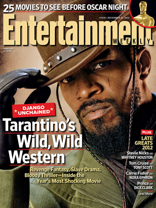 entertainmentweekly:  This week in EW: Django Unchained, unchained.
