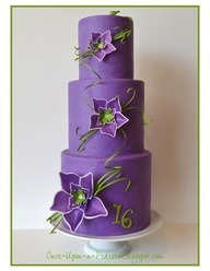 aiowedding:  Purple Cake @}-,-;— - Aio wedding